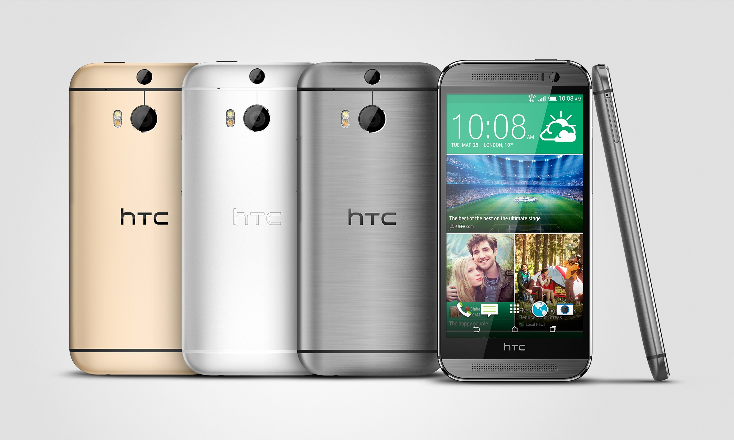 HTC One M8_design
