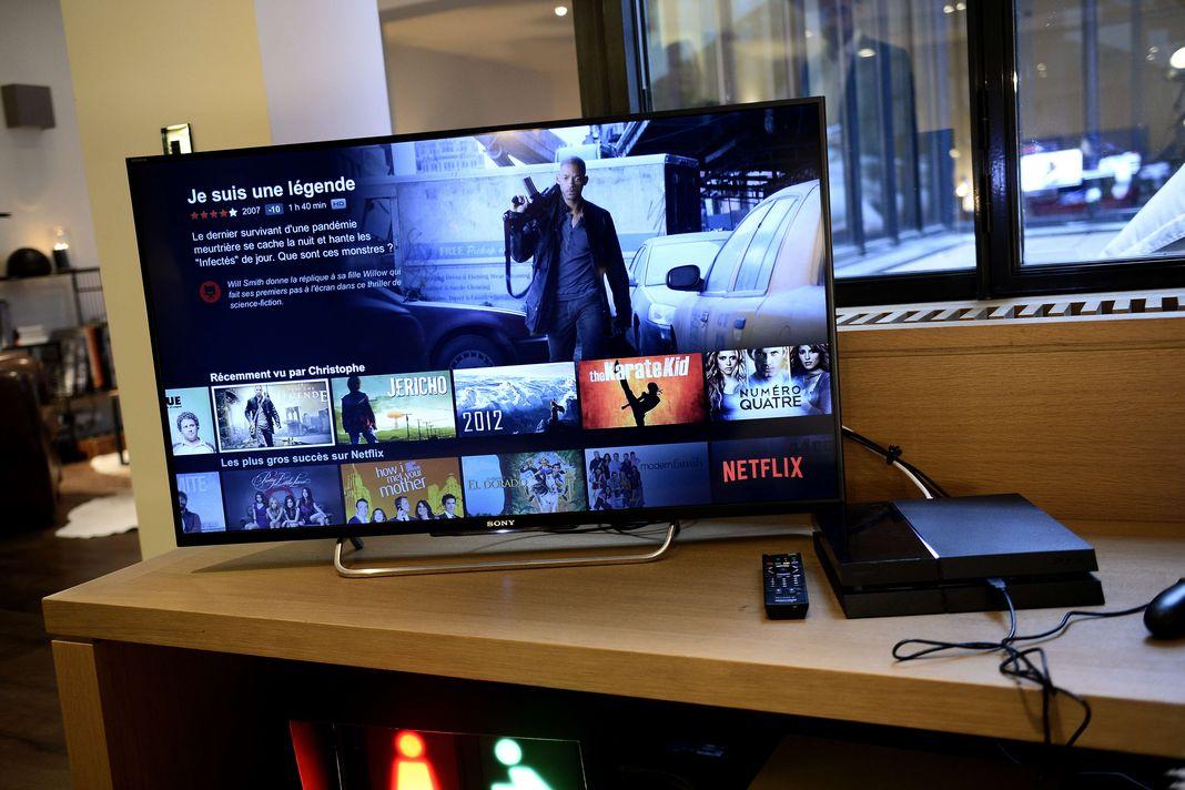 Sr Studio conquête Netflix OCS