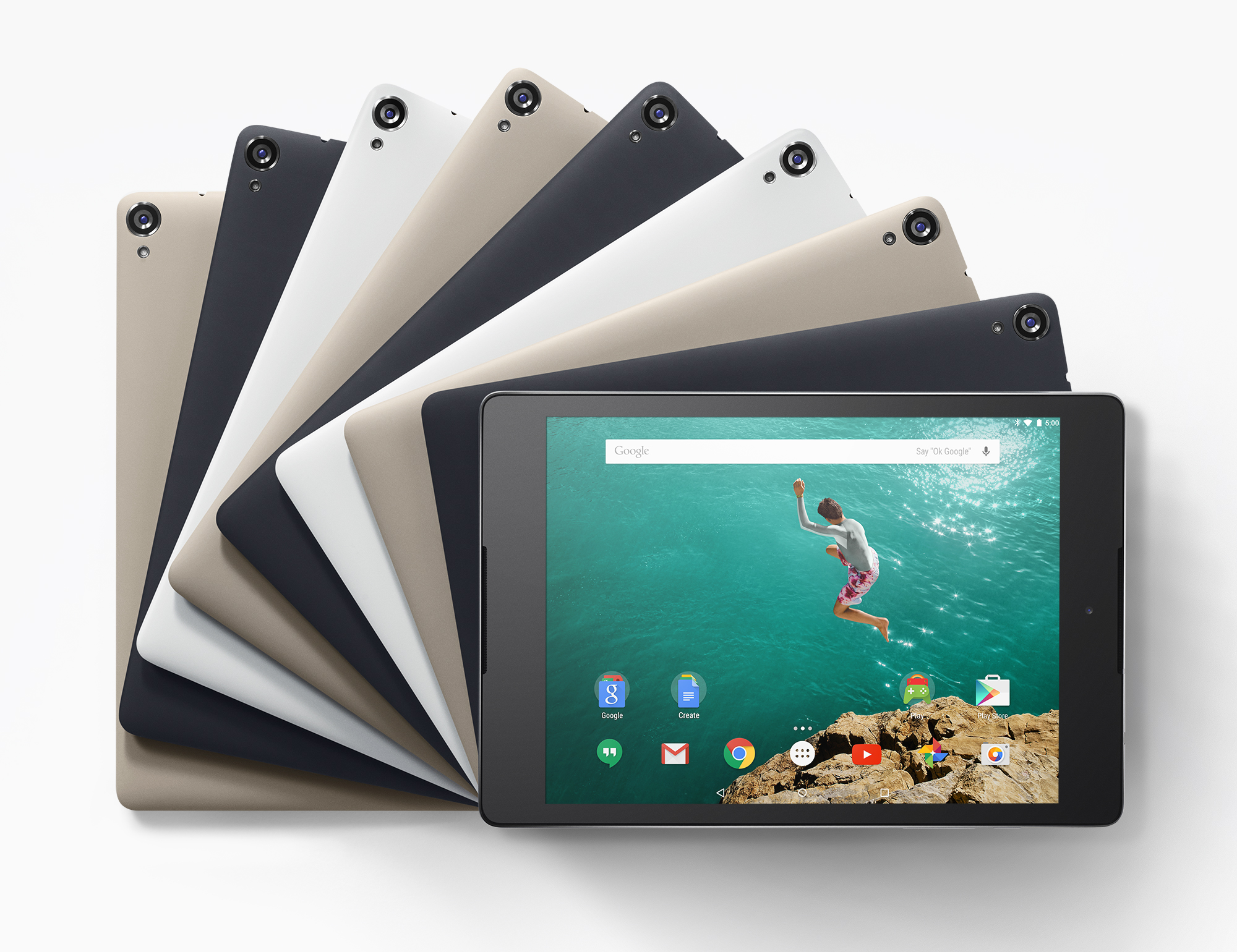 Nexus 9 disponible 3 Novembre