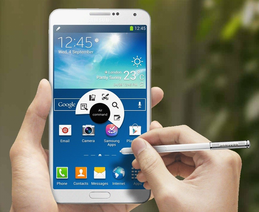Samsung Galaxy Note 4 Android lollipop