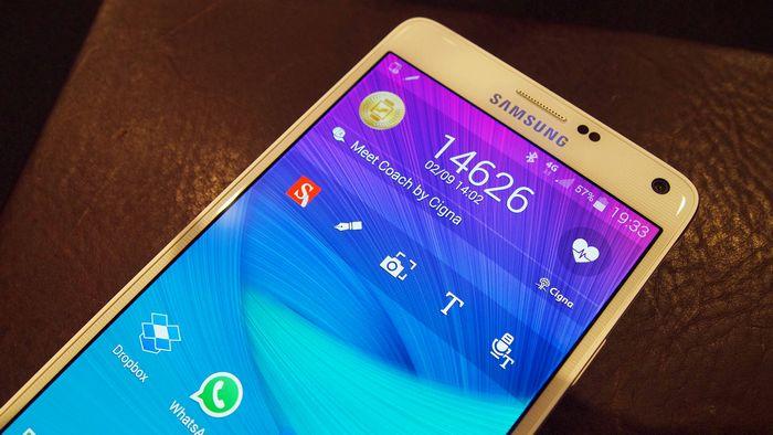 Samsung Galaxy Note 4 succès