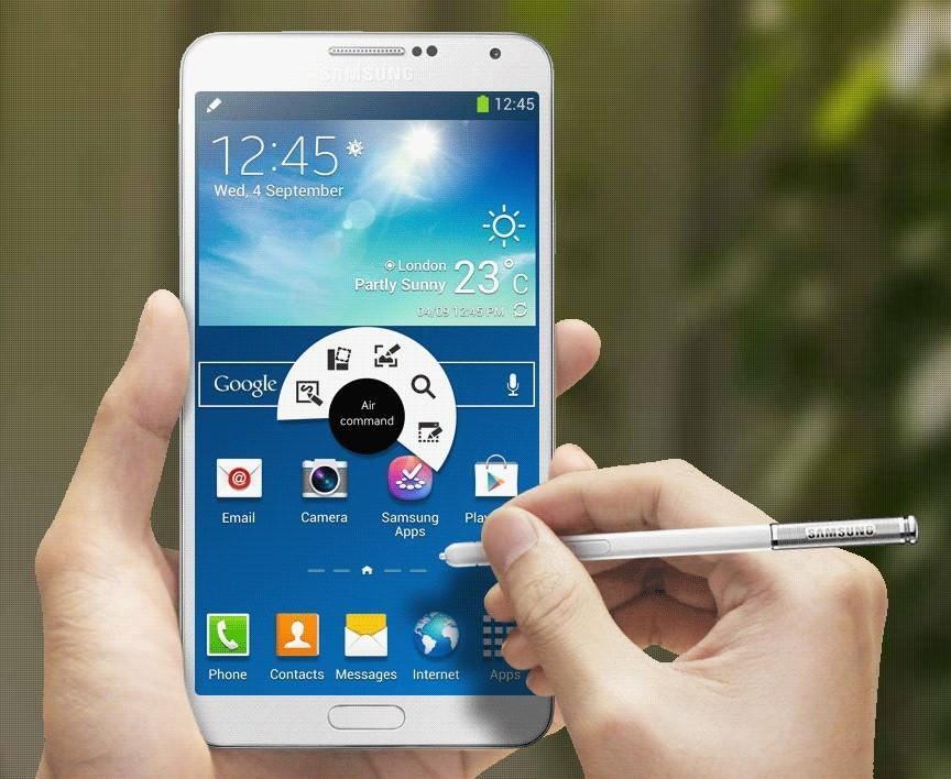 Samsung Galaxy Note 4 ventes record