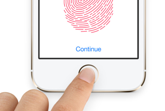 Touch ID iphone 6 plus