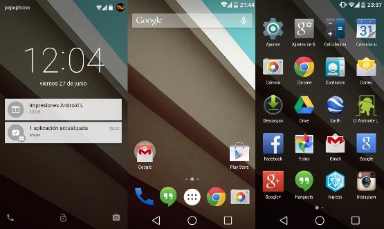 Android 5.0 Lollipop les fonctionnalités