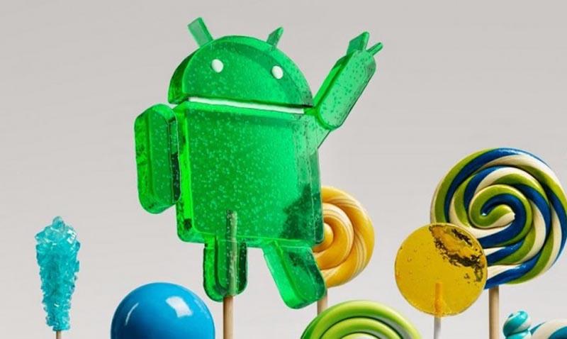 android lollipop mise a jour