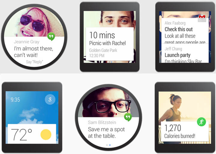 android wear surcouche
