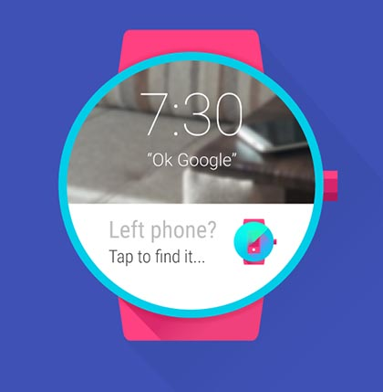 android wear top findmyphone