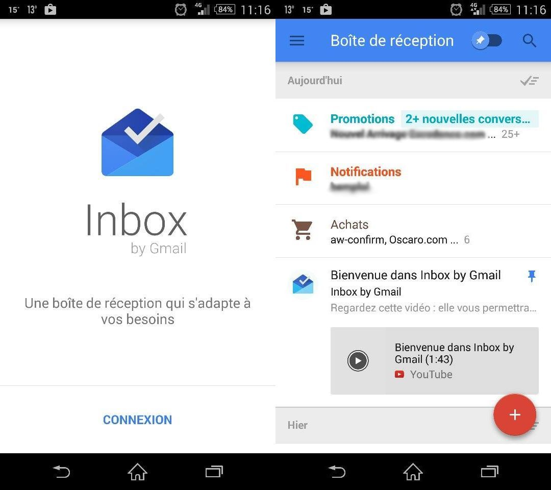 how to add inbox.google.com in google applicaton