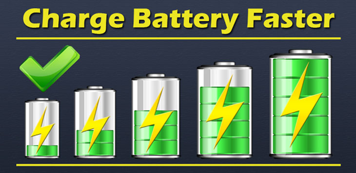 batterie charge rapide longue duree de vie