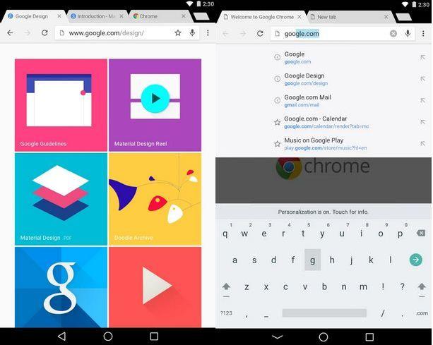 date de sortie des Nexus 6, Nexus 9 et Android L