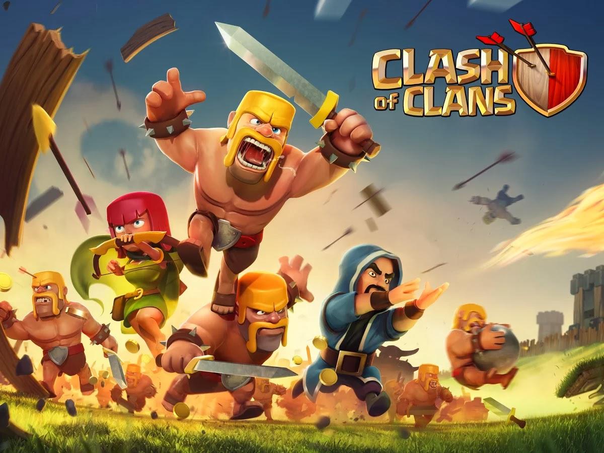 clash of clans jeu stratégie
