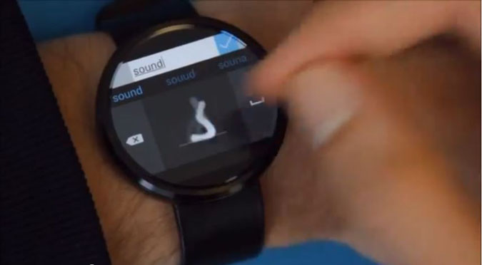 clavier analogue android wear