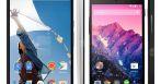 comparatif Nexus 6 vs Nexus 5