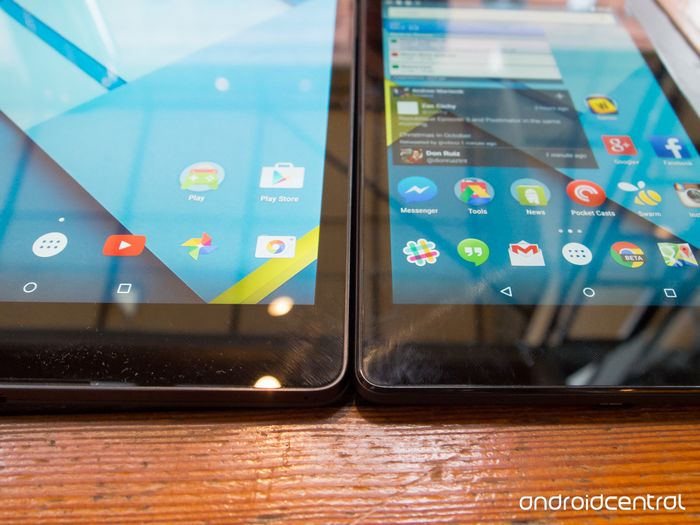 Nexus 9 vs Nexus 7