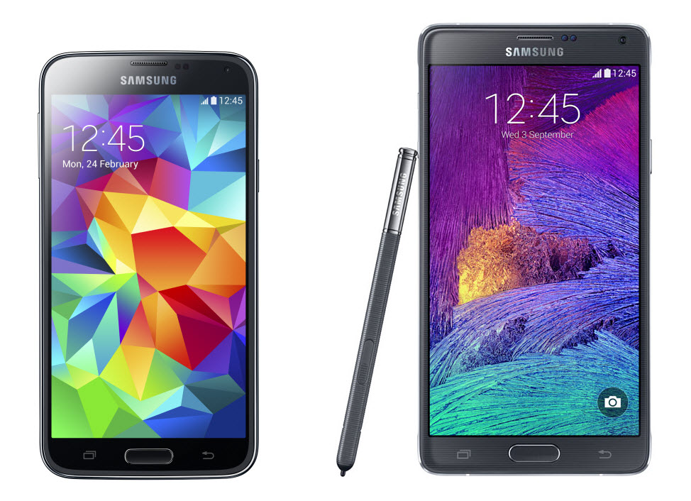 comparatif-note4-galaxy-s5