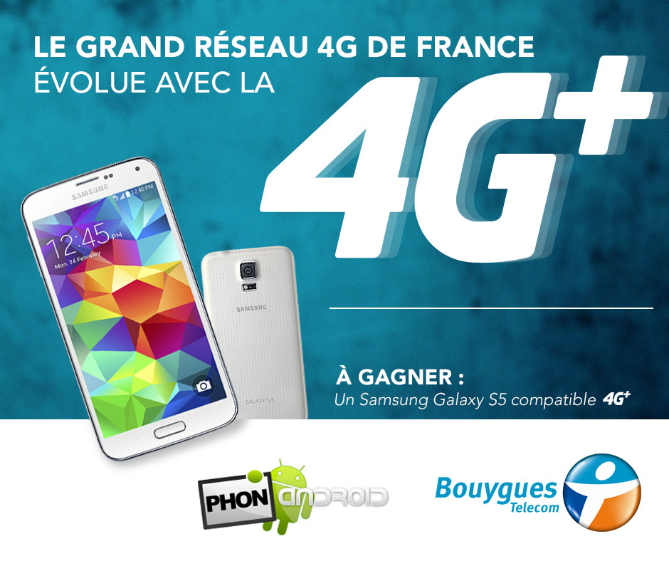 concours gagner galaxy s5 bouygues phonandroid