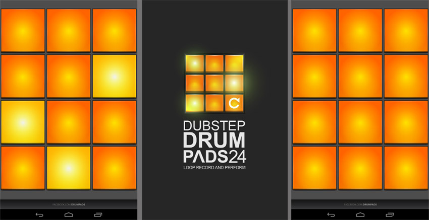 creation musical android dubstep drum pads 24