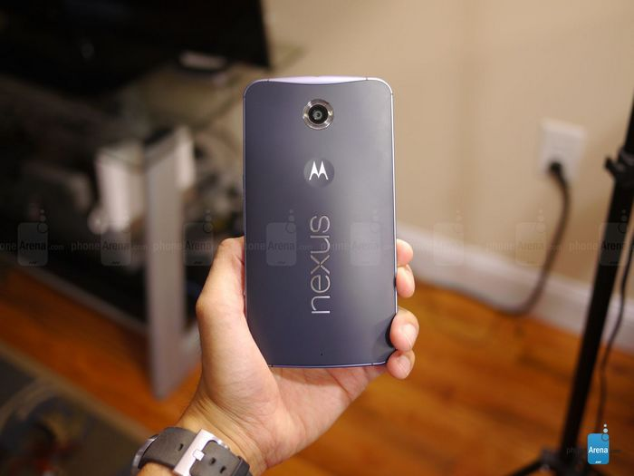 déballage du Nexus 6