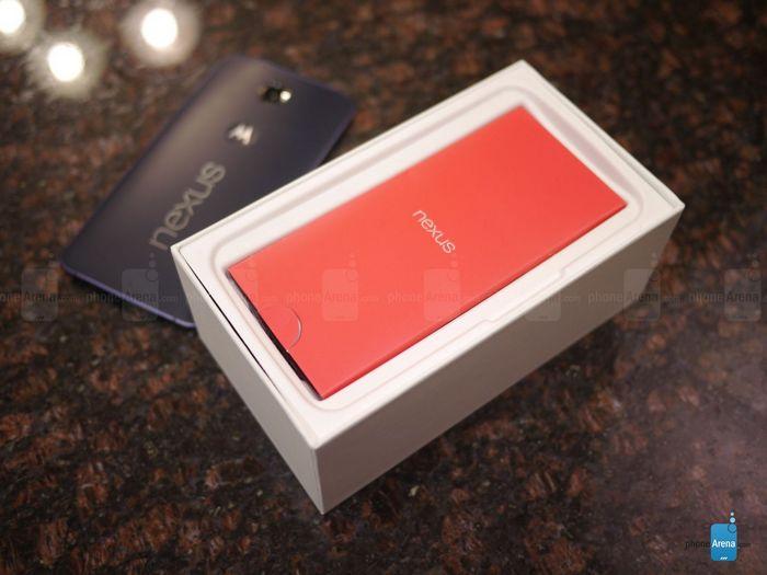 déballage du Nexus 6