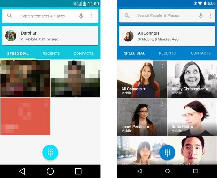 Android L vs Android 5.0 Lollipop