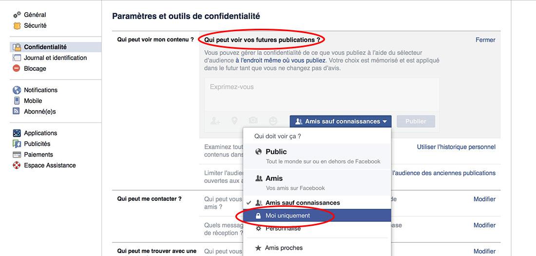 facebook anonymat