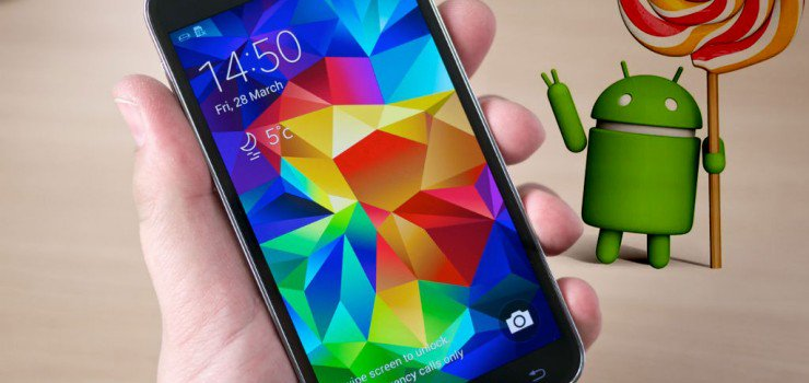 Galaxy S5 Android 5.0 Lollipop