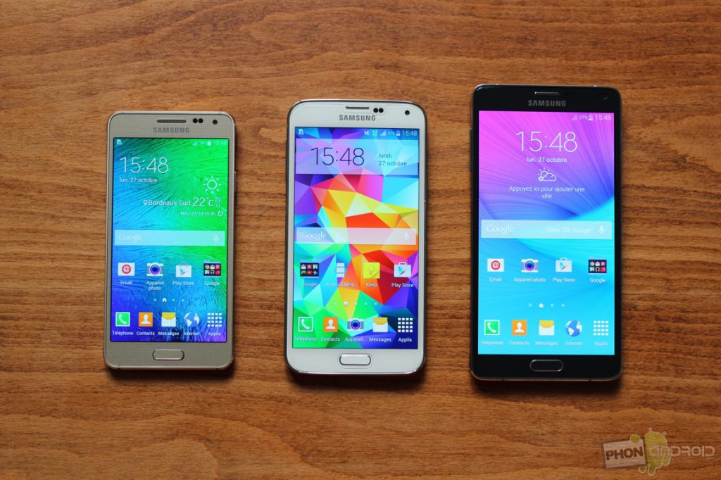galaxy note 4 alpha s5