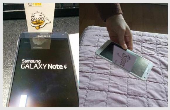 Galaxy Note 4 problème