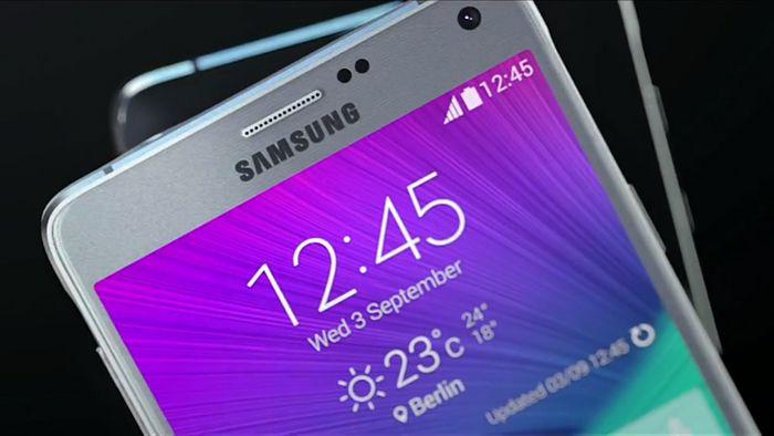 écran Galaxy Note 4