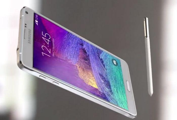 test Galaxy Note 4