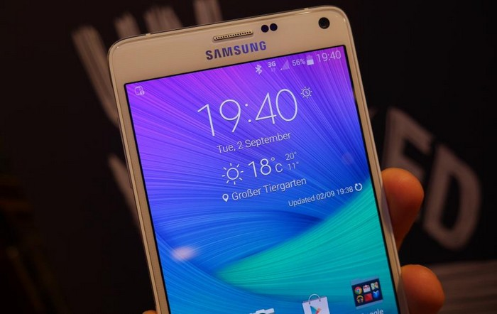 Galaxy Note 4 Video