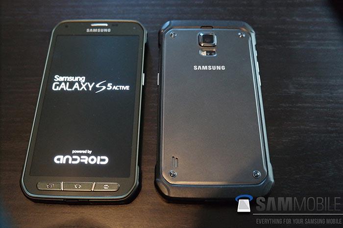 galaxy s5 active date sortie