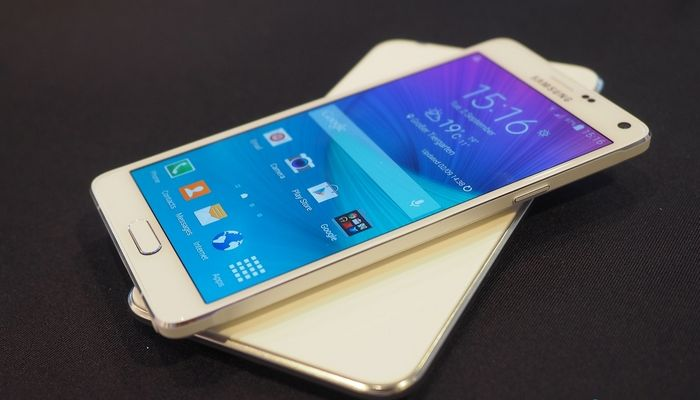 Galaxy Note 4 drop test