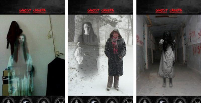 ghost camera halloween
