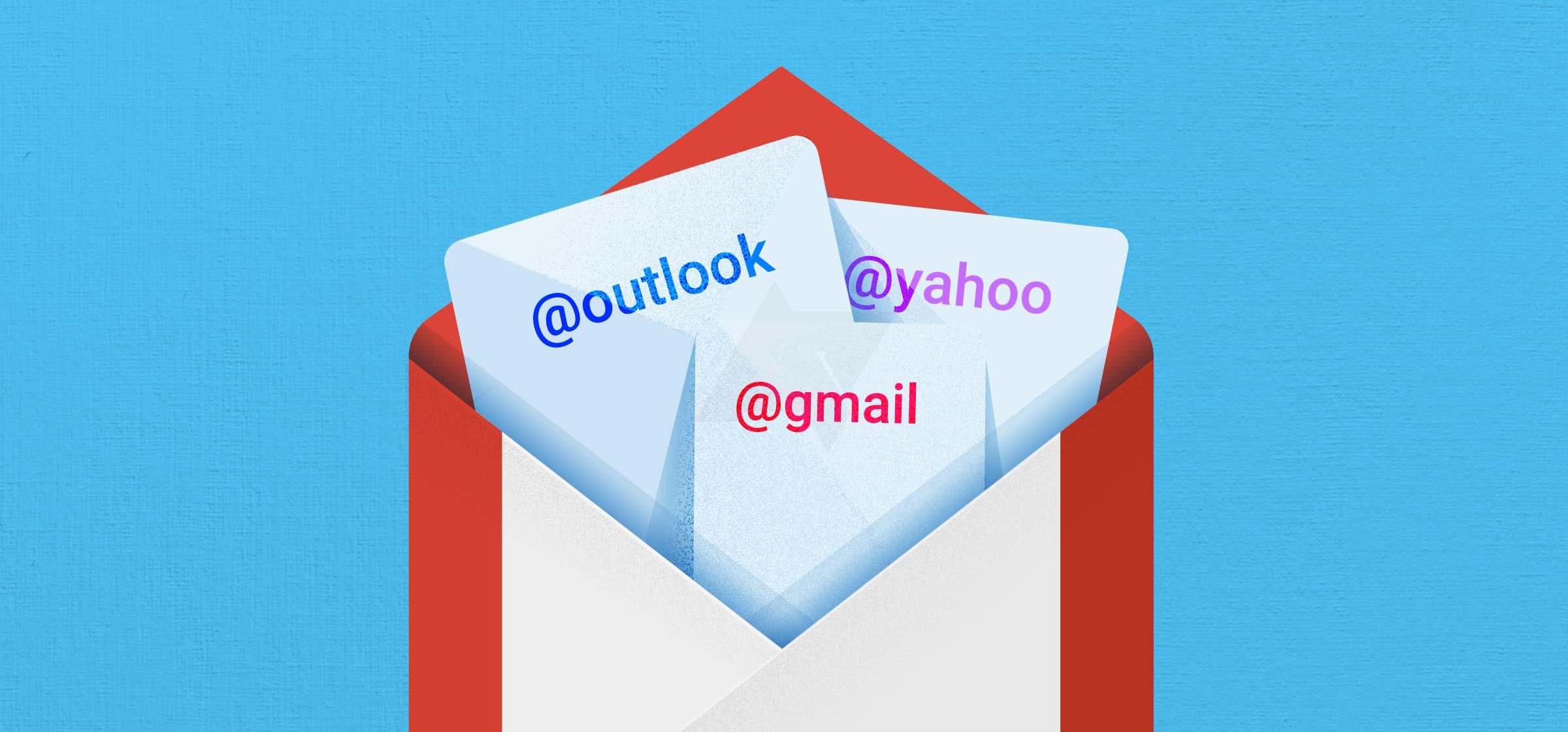gmail 5.0 autres comptes messagerie
