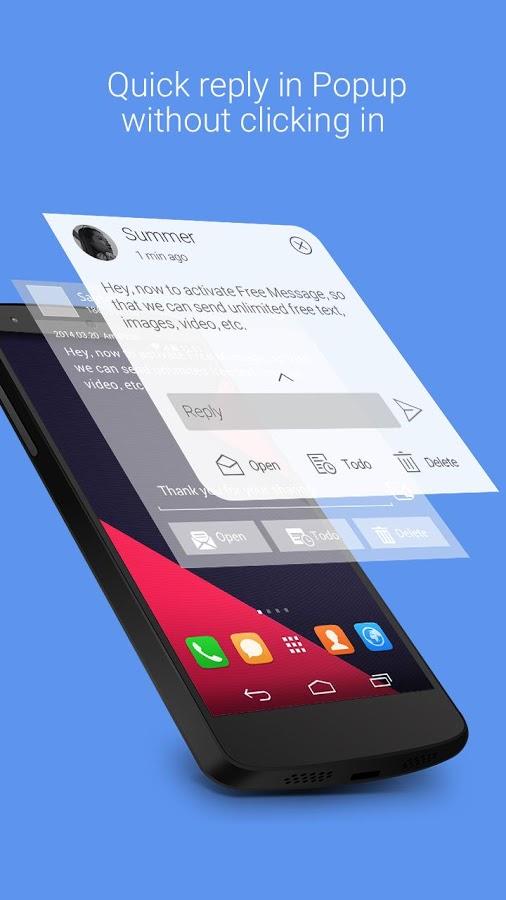 GO SMS Pro avec disparition des addons