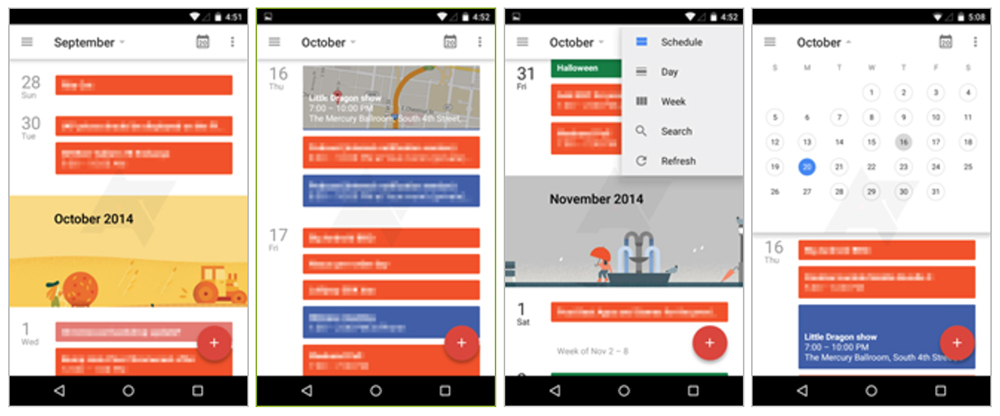 google-calendrier-android