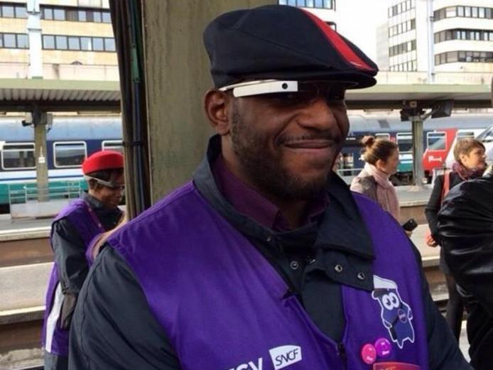 Google Glass SNCF Contrôleurs iDTGV