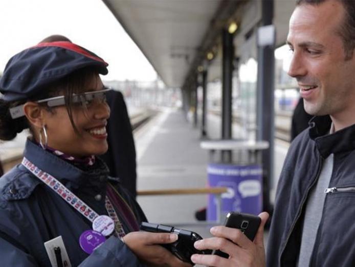 Google Glass SNCF entreprises