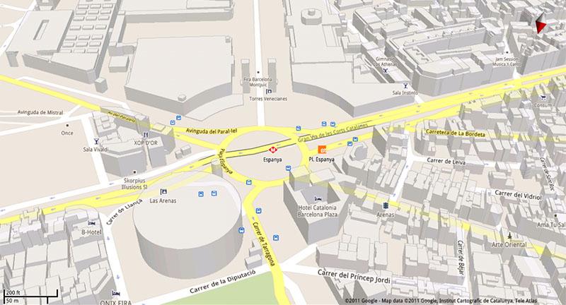 google maps acces hors ligne