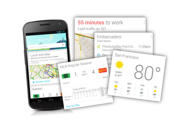 google now applications tierces