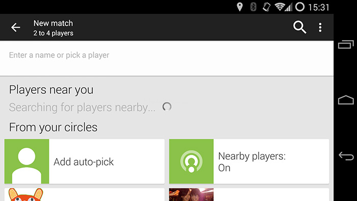 google play joueurs proches