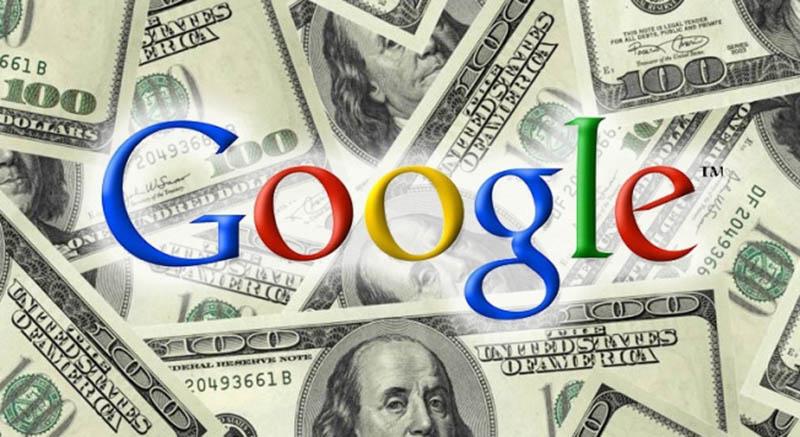 google valorisation bourse