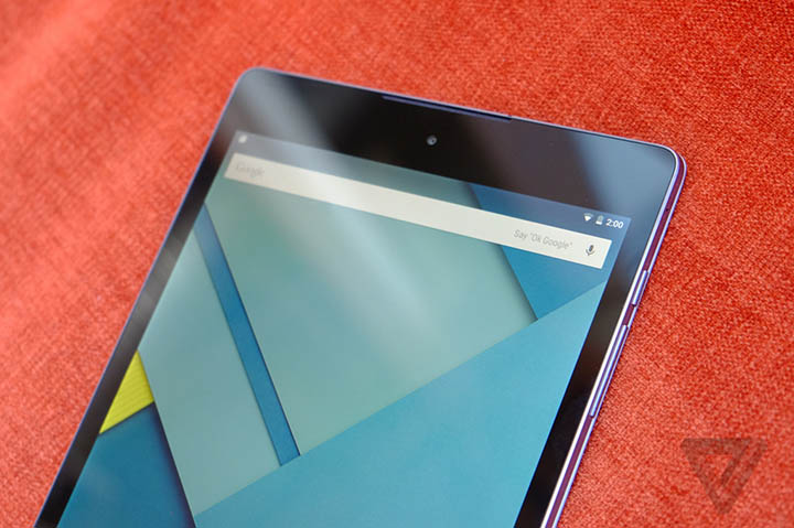 hands on nexus 9