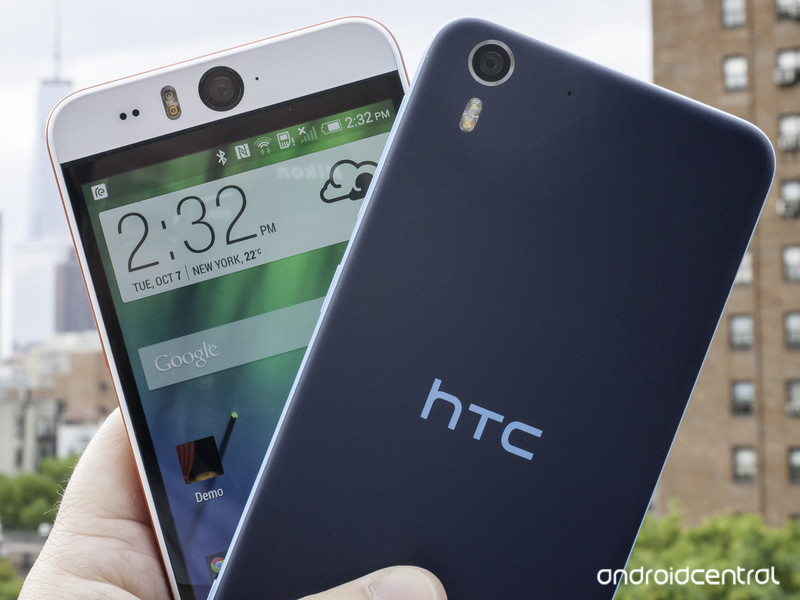 HTC Desire Eye prise en main