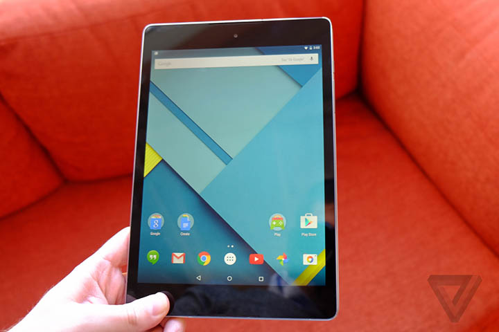 htc nexus 9 hands on