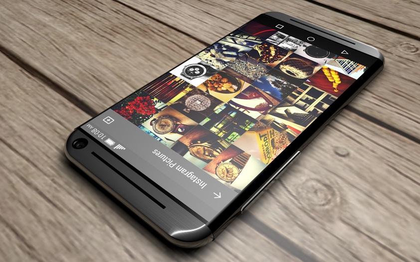 HTC One Bloom 3 coque en métal