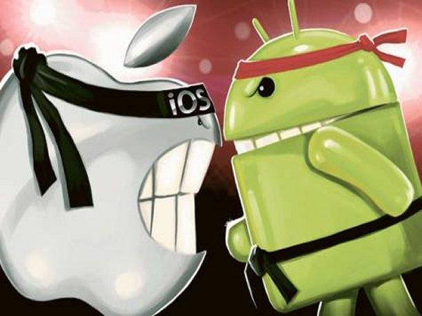 iOS 8 vs Android KitKat