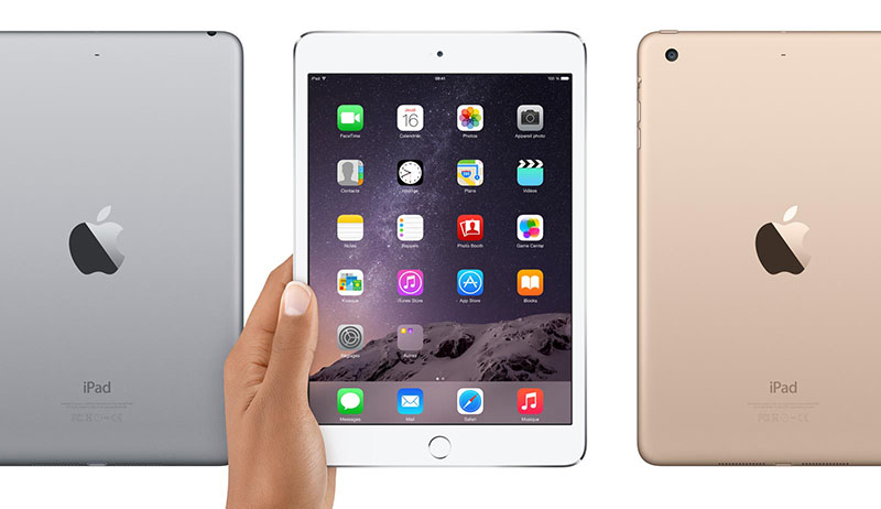 ipad mini 3 comparatif nexus