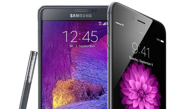 iphone-6-Plus-galaxy-note-4-résultats-corée